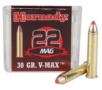 3 - Varmint Express Ammo 22 Magnum (WMR) 30GR V-Max