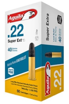 5 - Aguila – Super Extra Standard Velocity Ammo 22 Long Rifle 40GR Lead RN