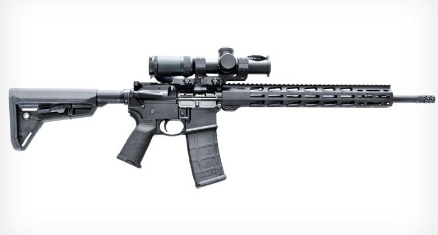 Featured Ruger AR-556 MPR Review