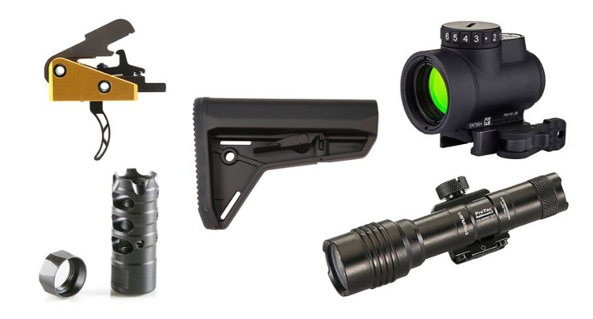 Featured Ruger AR-556 Accessories