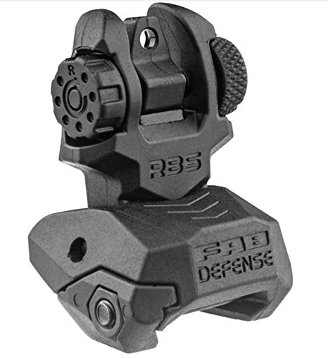 FAB Defense Front and Rear Set of Flip Up Sights