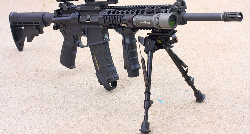 Featured Best AR-15 Foregrip Bipods Review