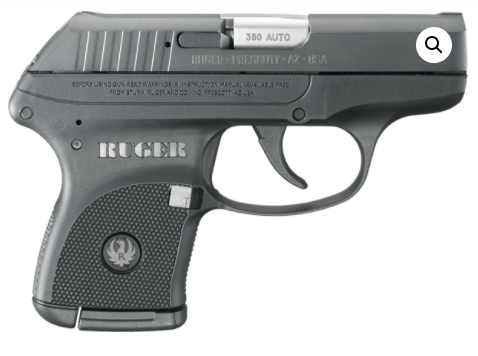Ruger LCP 2.75 Inches 380 Auto
