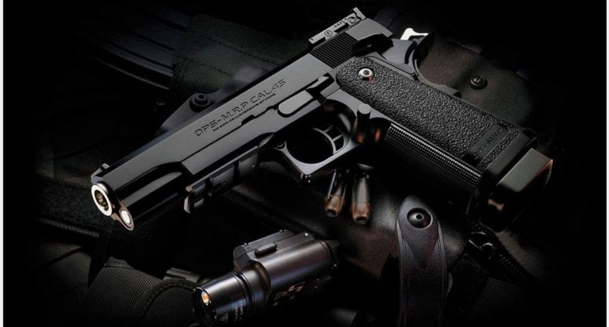 best 45 ACP pistols wallpaper