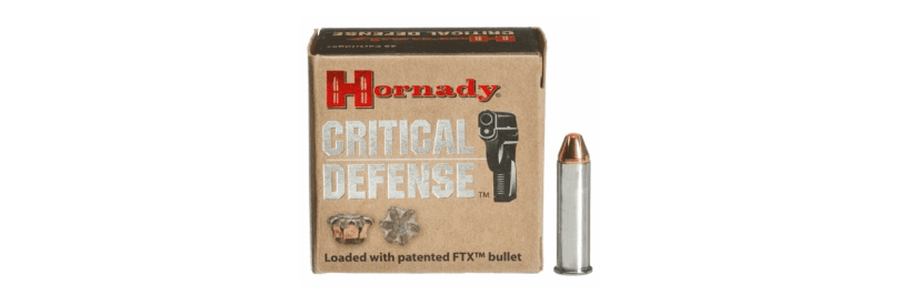 Hornady - Critical Defense Ammo 9mm Luger 115gr FTX