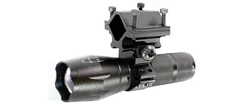 Trinity 800-Lumen Flashlight for Hunting