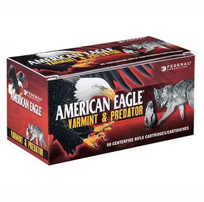 American Eagle Varmint and Predator Ammo 6.8 Remington SPC 90GR Hollow Point
