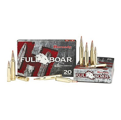 Hornady - Full Boar Ammo Made 6.8MM Remington SPC 100GR GMX