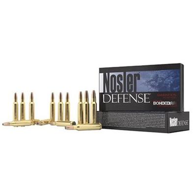 NOSLER, INC. - Defense Ammo 6.8MM Remington SPC 90GR Bonded
