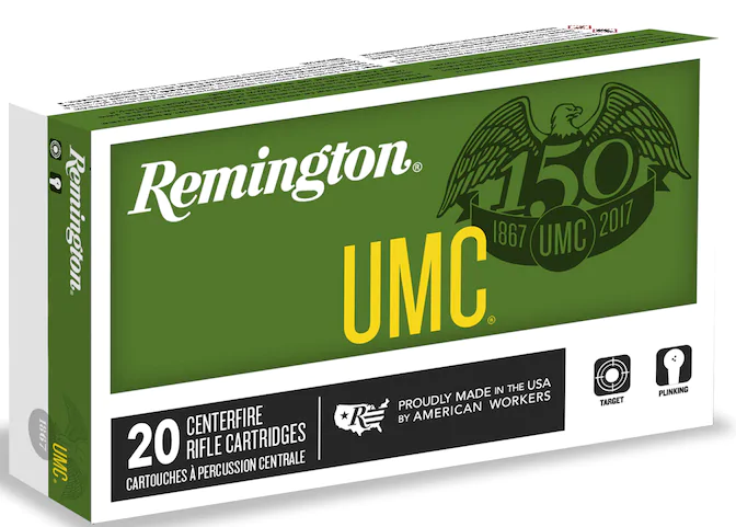 UMC AMMO 6.8MM Remington SPC 115GR FMJ