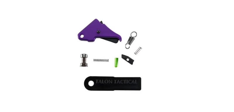 Apex Tactical Specialties Inc. - S&W Shield Flat-faced Enhancement Trigger & Duty Carrier Kit